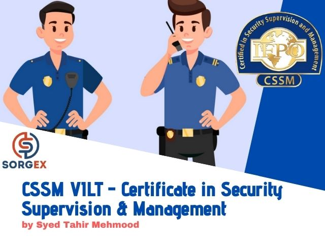 Certified in Security Supervision and Management