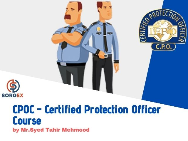 Certified Protection Officer Course Arabic
